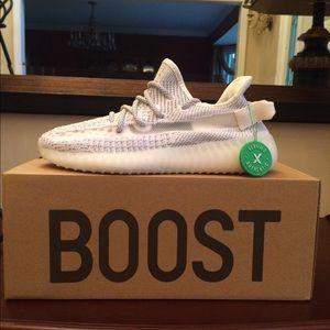 Men's Adidas Yeezy Boost Static Reflective Sz 7
